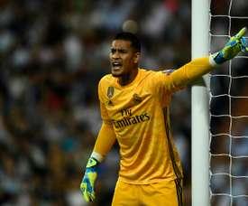 O PSG quer um novo acordo com o Real Madrid por Areola. AFP
