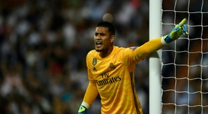 Areola has become a very good back up choice at Real Madrid. AFP