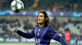 Cavani could end up at Chelsea instead. EFE
