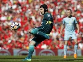Cech has competition. AFP
