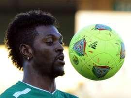 Adebayor es el líder de Togo en la Copa África. AFP