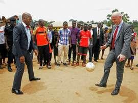 Le président de la fédération ougandaise de football Moses Magogo