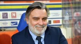 Nicollin espère pouvoir mener à bien le projet de construction. AFP