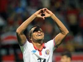Los 'ticos' vencieron a Colombia y consiguieron 4 puntos en la fase de grupos. EFE