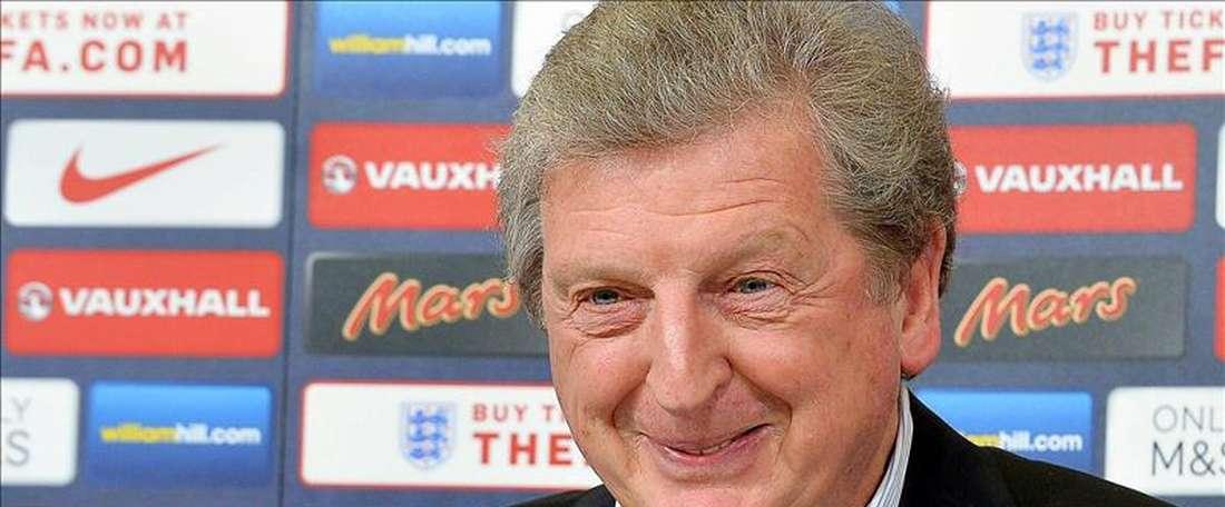 El entrenador de la selección inglesa de fútbol, Roy Hodgson. EFE/Archivo