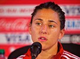 Verónica Boquete, jugadora de la selección femenina española de fútbol. EFE