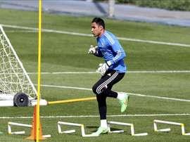 El portero de Costa Rica y del Real Madrid, Keylor Navas. EFE/Archivo