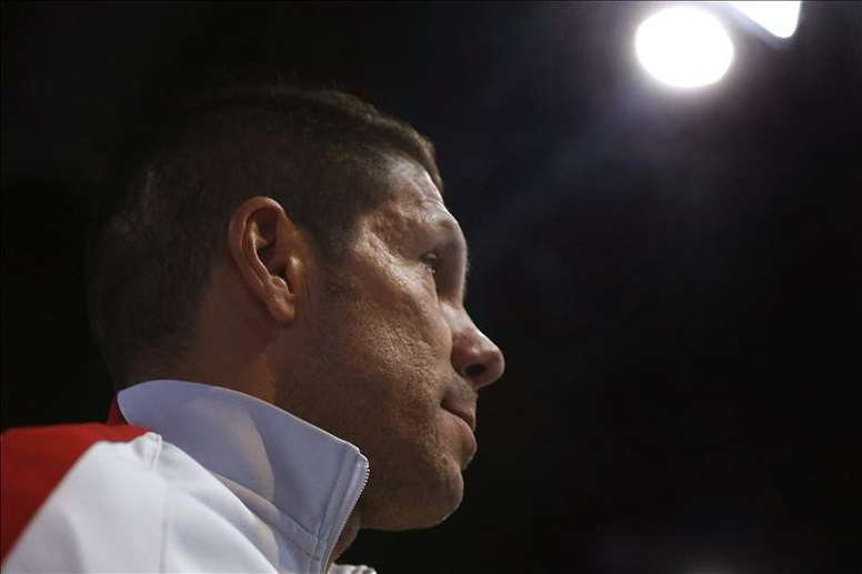 El técnico del Atlético de Madrid, Diego Pablo Simeone. EFE/Archivo