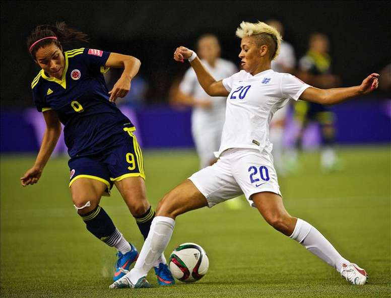 Lianne Sanderson has battled to comeback from a knee injury, and has now signed for Juventus. EFE