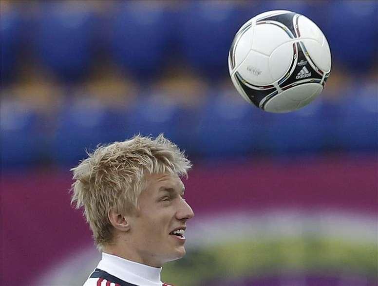 El jugador Daniel Wass. EFE/Archivo