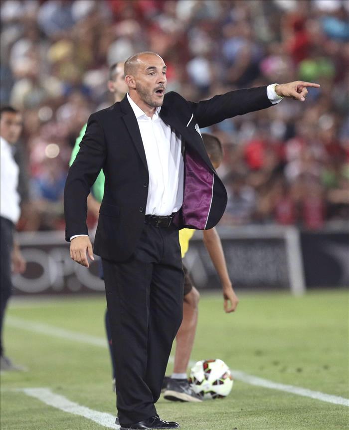 El entrenador Chapi Ferrer. EFE/Archivo