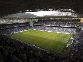 Magunazelaia no jugó un solo minuto con el Oviedo la pasada temporada. EFE
