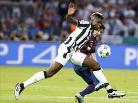Barca could not afford Pogba back in 2016. EFE/Archivo