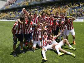 El Bilbao Athletic empató en El Malecón. EFE