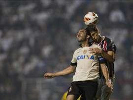 Milan veut un prêt avec option d'achat pour Caio. EFE/Archive