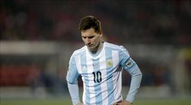El delantero argentino Lionel Messi. EFE/Archivo