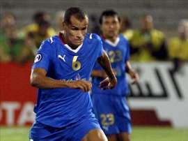 Fotografía tomada en septiembre de 2008 en la que se registró al futbolista brasileño Vitor Borba Ferreira Rivaldo, campeón con la selección brasileña en el Mundial de 2002. EFE/Archivo