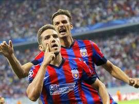 El Steaua no pudo superar la sólida defensa del Botosani. EFE/Archivo