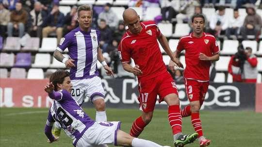 Javi Hervás tuvo un nefasto paso por el Sevilla. AFP