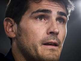 El guardameta español Iker Casillas. EFE/Archivo