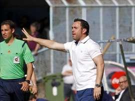 El entrenador del Espanyol, Sergio González. EFE/Archivo