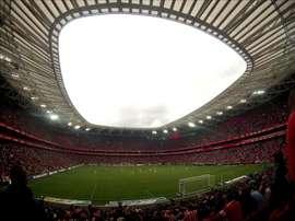 Vista general del estadio de San Mamés. EFE/Archivo