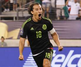 Guardado believes that Mexico can go far in the tournament. EFE/Archivo