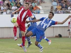 El Lorca Deportiva acabó lideando la tabla el pasado curso. EFE/Archivo