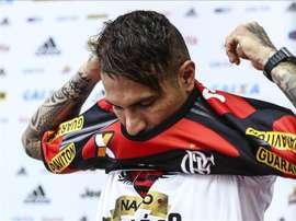 Paolo Guerrero es el jugador mejor pagado de Sudamérica. EFE