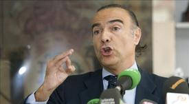Luis Oliver podría marcharse del Extremadura. EFE