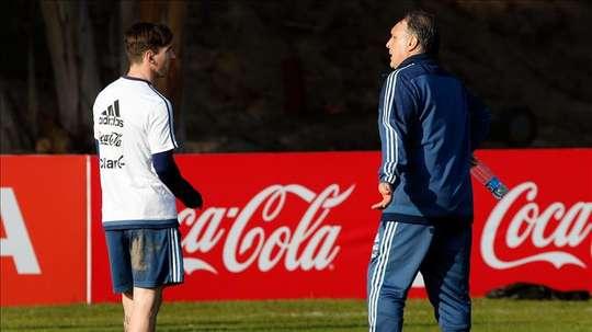 El 'Tata' podría regresar a la Selección Argentina. EFE