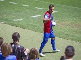 Trujillo finalmente ha sido multado por no haber viajado con el Levante a Eibar. EFE