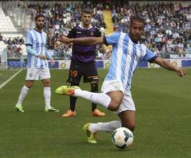 Tissone, en una foto de su etapa en el Málaga, suena para el Shakhtar. EFE