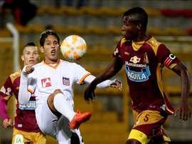 Deportes Tolima y Junior sellan un empate. EFE