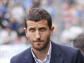 El entrenador del Málaga Javi Gracia. EFE/Archivo