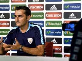 El entrenador del Atletic de Bilbao, Ernesto Valverde. EFE/Archivo