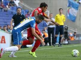 Víctor Álvarez cree que el Espanyol puede salvarse. EFE
