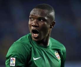 El jugador ha estado apartado del club tres semanas. EFE