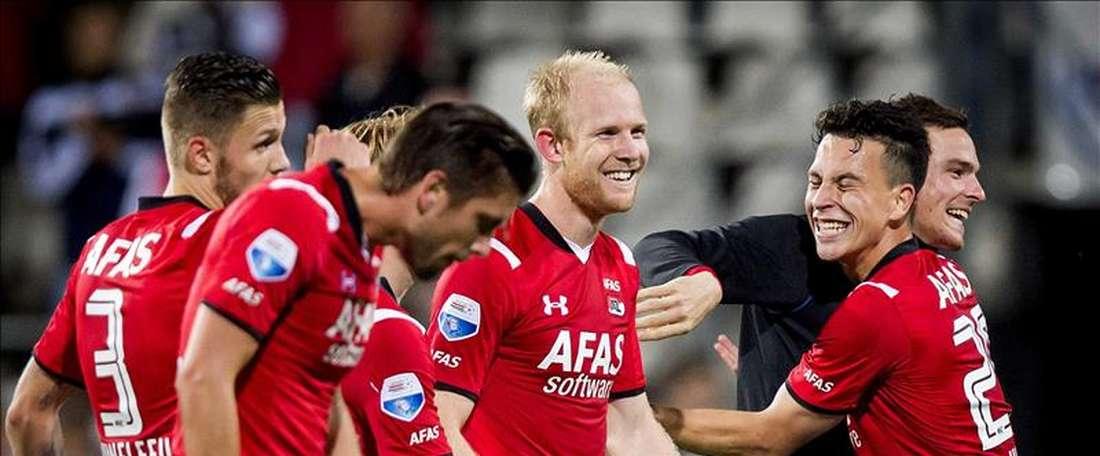 El AZ Alkmaar ha presentado a un nuevo jugador. EFE/Archivo
