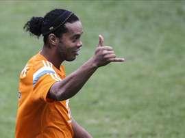 El futbolista brasileño Ronaldinho Gaucho. EFE/Archivo