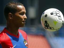 El delantero brasileño Deyverson Silva. EFE/Archivo
