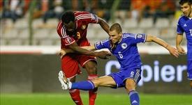 El bosnio podría abandonar el club. EFE