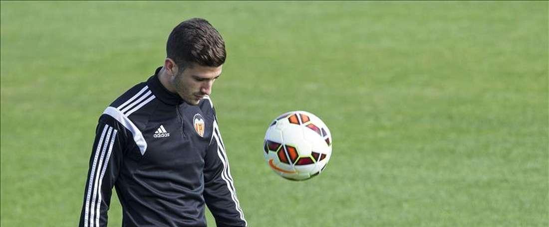 El jugador del Valencia, José Luis Gayà. EFE/Archivo