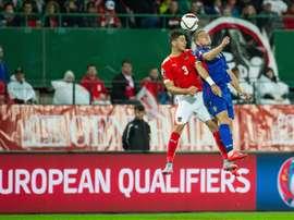 El austriaco Dragovic se irá del Dínamo de Kiev este verano. EFE