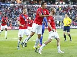 La Selección Noruega salió derrotada. EFE/Archivo