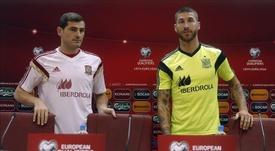 Iker Casillas y Sergio Ramos, entre los mejores de lo que va de siglo. EFE/Archivo