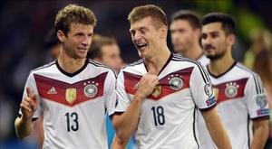 Alemanha sem Kroos nem Ter Stegen. EFE