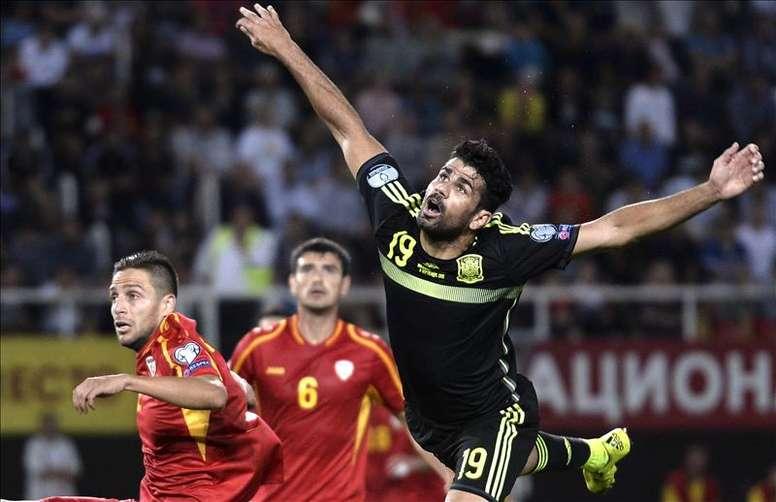 L'Espagne se rend en Macédoine. EFE