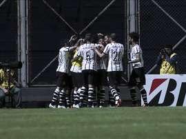 En la imagen, jugadores del Corinthians. EFE/Archivo