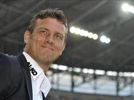 El entrenador del Augsburgo, Markus Weinzierl. EFE/Archivo